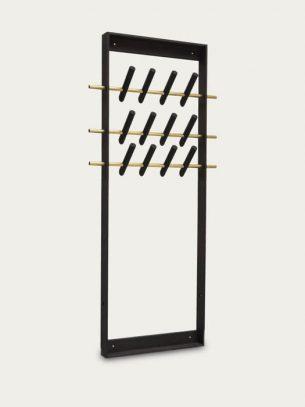 Dark Coat Frame we do wood bamboo furniture sustainable eco friendly hook hanger