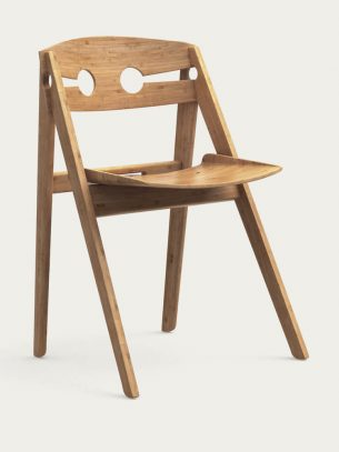 Bamboo Dining Chair No. 1