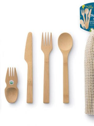 Bambu Reusable Eat & Drink Tool Kit