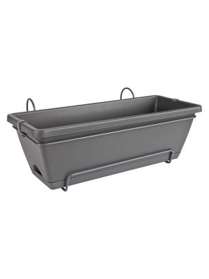 Barcelona all in one trough anthracite 50cm