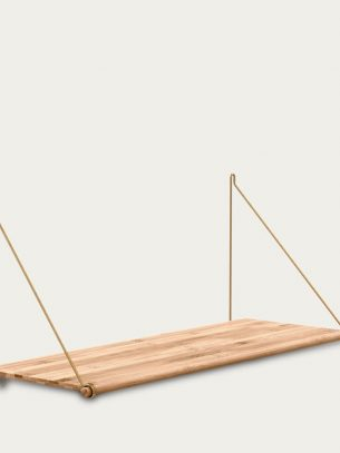 Brass Loop Shelf