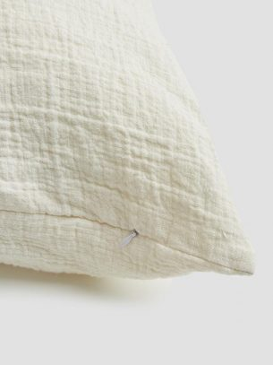 piglet linen cream cushion cover sustainable eco friendly homeware and home textiles