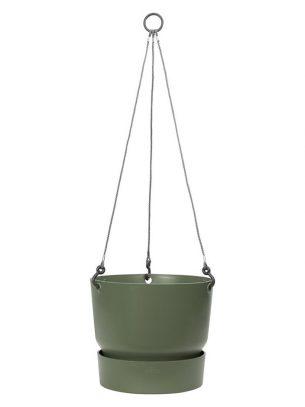 Greenville hanging basket 24cm green