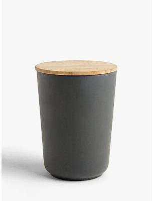 John Lewis & Partners Bamboo Canister, 700ml