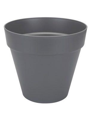 Loft urban round pot anthracite 30cm