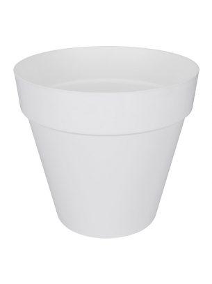 Loft urban round pot white 30cm