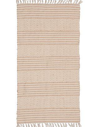 Mandani Handloom Chenille & Jute Rug - 75 x 135cm