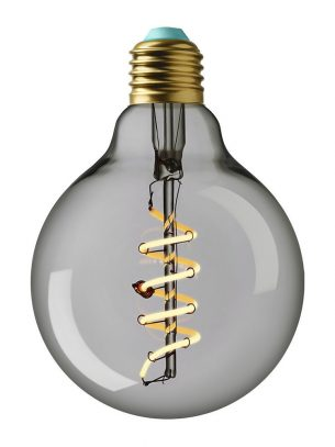 Plumen - Whirly Wyatt LED Bulb - Clear