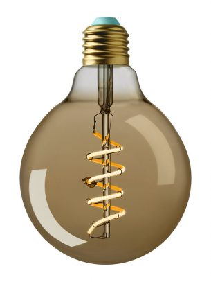 Plumen - Whirly Wyatt LED Bulb - Gold