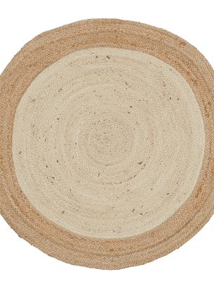 Sariska Round Jute Rug - 90cm