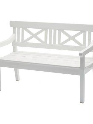Skagerak - Drachmann Bench - White - 120cm