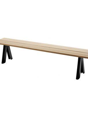 Skagerak - Overlap Bench - Anthracite Black