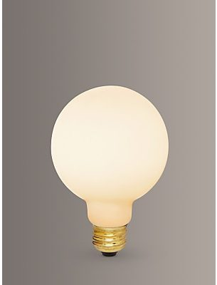Tala LED 6W Porcelain II ES LED Globe Bulb, Dimmable