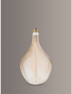 Tala LED Voronoi III 5W LED ES Bulb, Clear/Gold, Dimmable