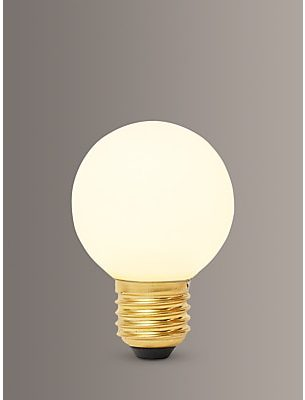 Tala Sphere I 4W ES LED Dim to Warm Globe Bulb, Matt White