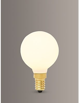 Tala Sphere I 4W SES LED Dim to Warm Globe Bulb, Matt White