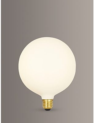 Tala Sphere IV 8W ES LED Dim to Warm Globe Bulb, Matt White