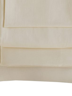 The Flax Sack Organic Linen Pillowcases - Oyster White - Set of 2