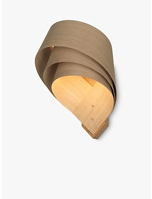 Tom Raffield Cape Layered LED Wall Light, Oak