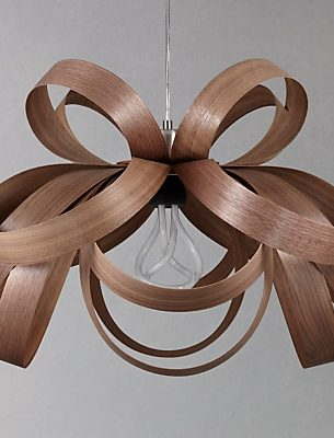 Tom Raffield Skipper Pendant Light, 62cm