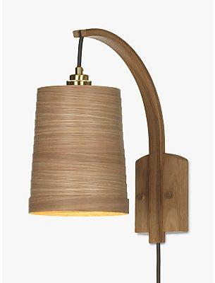 Tom Raffield Stem Wall Light, Oak