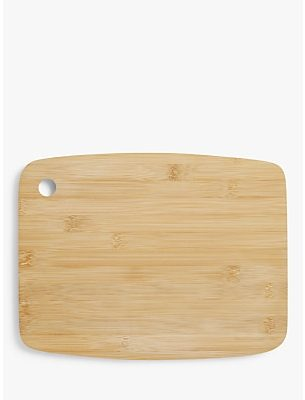 House by John Lewis Small Bamboo Chopping Board, L30cm
