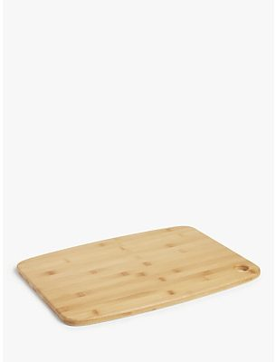 House by John Lewis Large Bamboo Chopping Board, L46cm